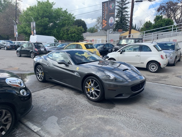 Used Ferrari California Los Angeles Ca