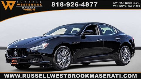 Certified Pre-Owned 2017 Maserati Ghibli Base